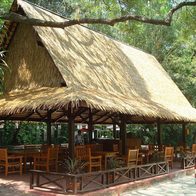 Synthetic Thatch Roofing / Waterproof   VIROTHATCH JAVA