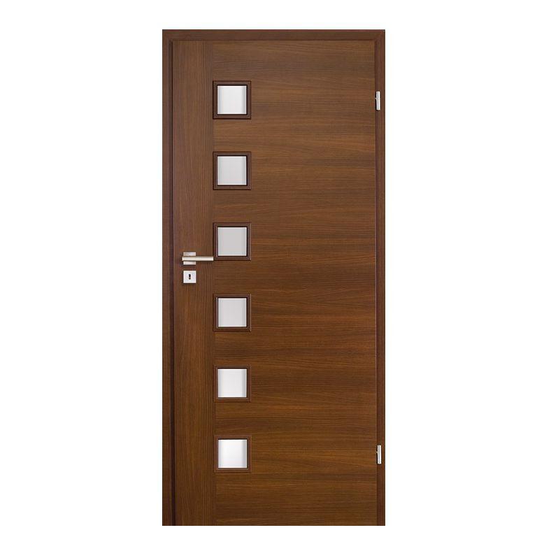 Indoor Door / Swing / MDF / Melamine   FOILED LEAVES AQUARIUS