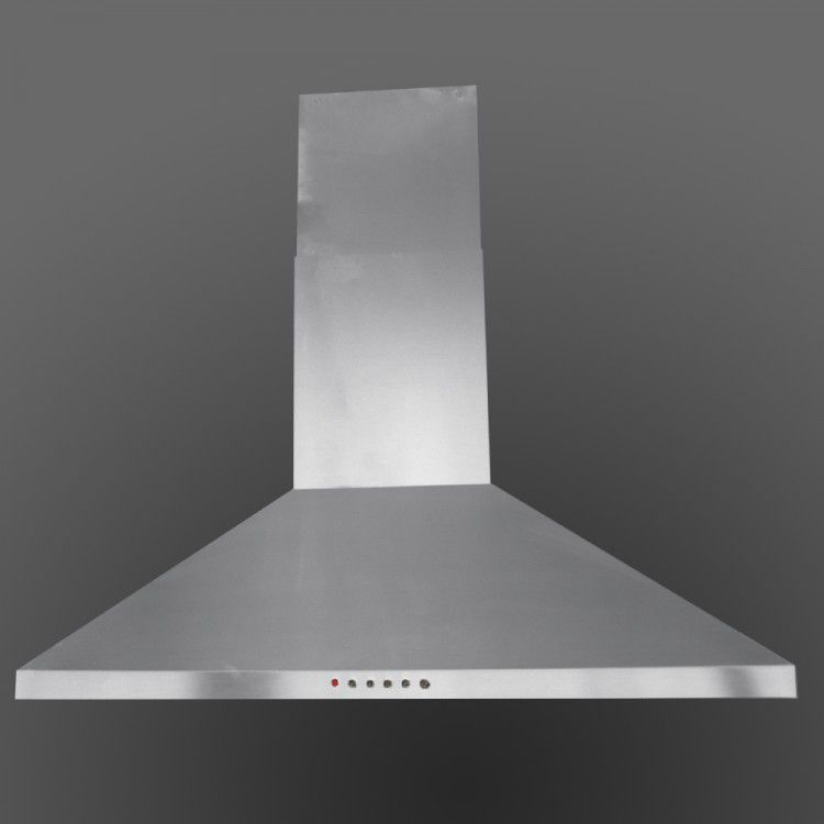 Island Range Hood With Built In Lighting LA 70 STD ISL