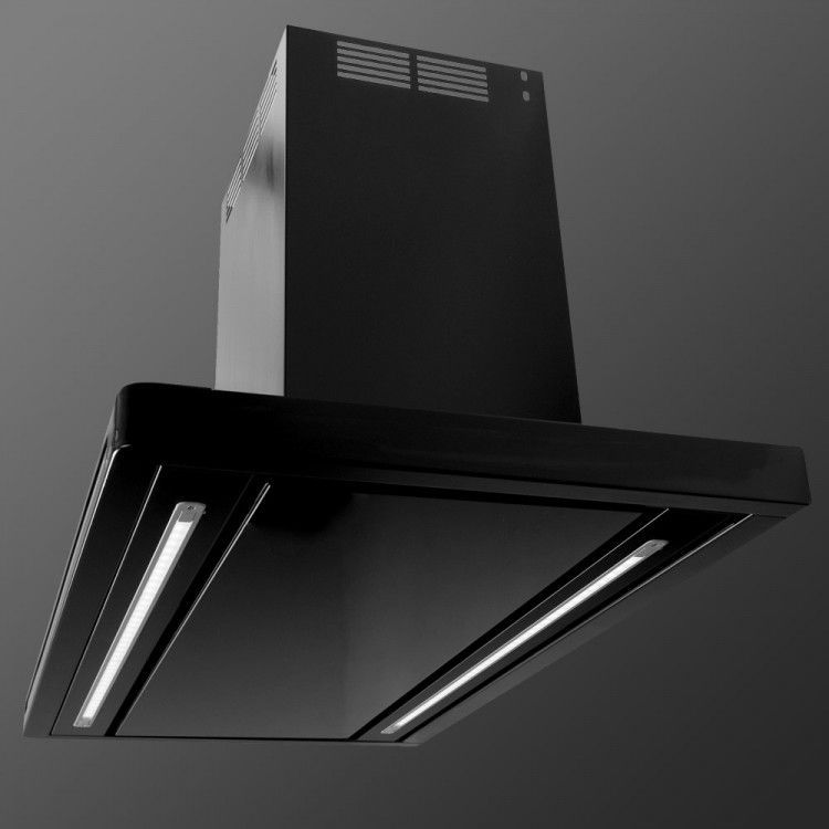 Island Range Hood With Built In Lighting LA 90 LINEA ISL