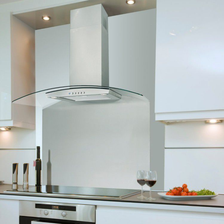 Wall Mounted Range Hood With Built In Lighting La 60 Cvd Val