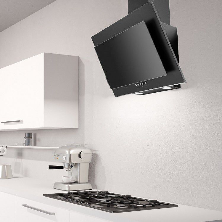 Wall Mounted Range Hood With Built In Lighting