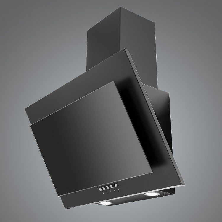 Wall Mounted Range Hood With Built In Lighting LA 60 GALAXY
