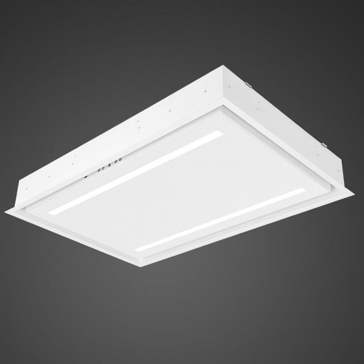 Charmant ... Ceiling Mounted Range Hood / With Built In Lighting ...