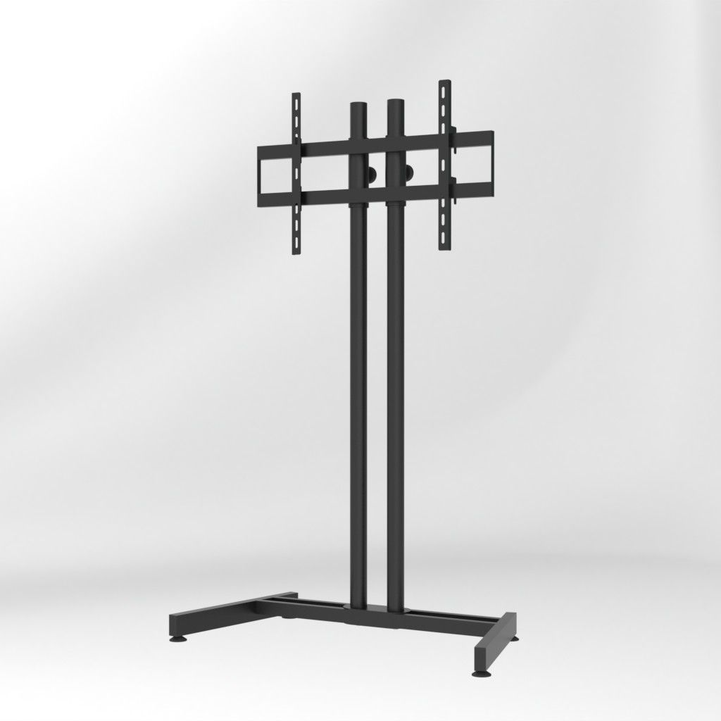contemporary tv stand  with screen lift  steel  slim pv  - contemporary tv stand  with screen lift  steel  slim pv