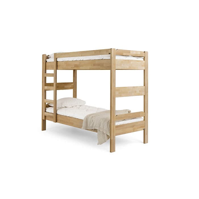 Bunk Bed Single Traditional Birch Kuusamo Kiteen