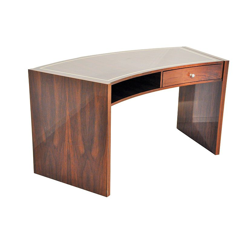 Macassar Ebony Desk Art Deco Oam00553