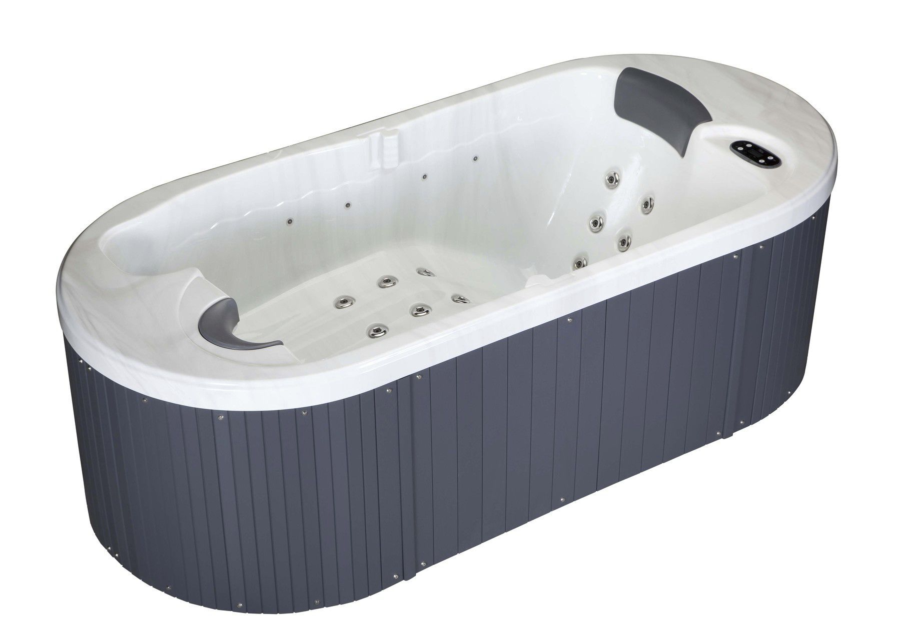 Above-ground hot tub / oval / 2-seater / indoor - LOFT - Aqua Dolce