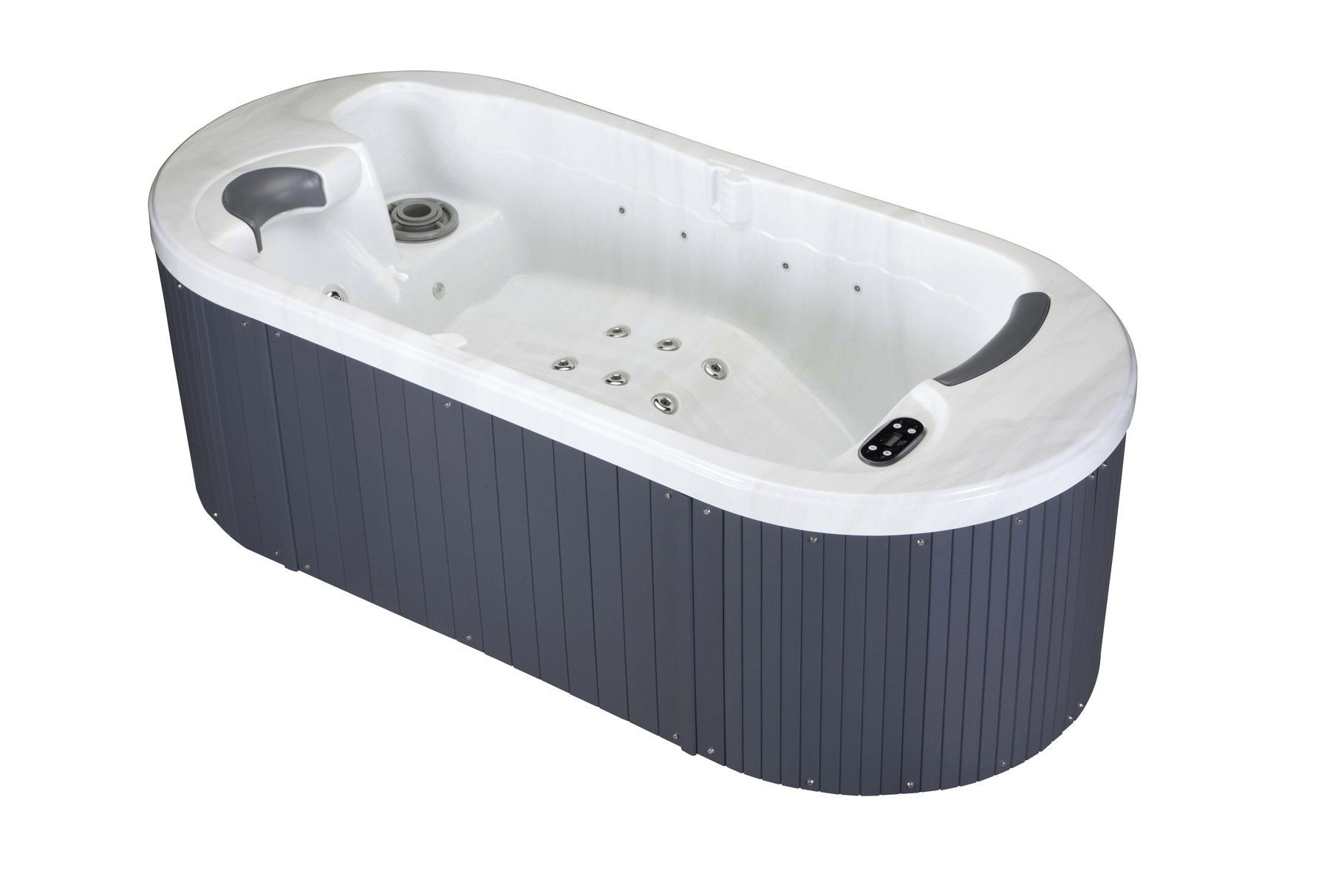 Above-ground hot tub / oval / 2-person / indoor - LOFT - Aqua Dolce