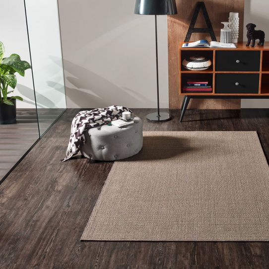 woven rug / contemporary / plain / sisal - NAIROBI