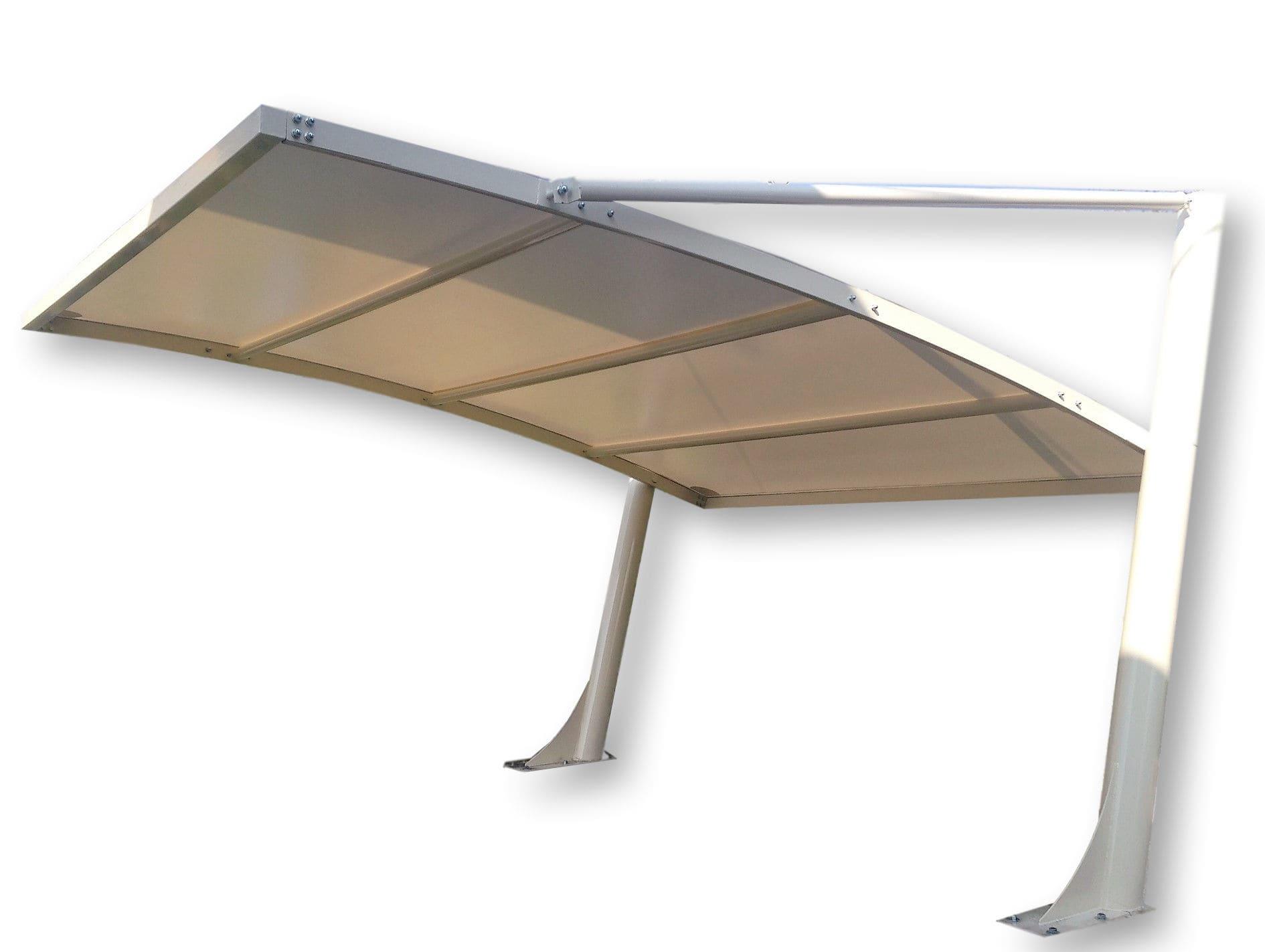 Metal carport polycarbonate pvc commercial mx metexa sas