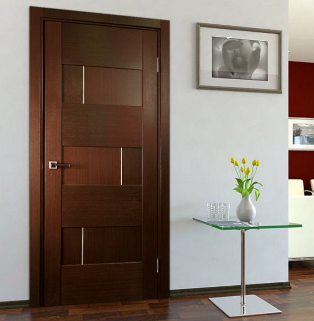 Beau Indoor Door / Swing / Solid Wood / Semi Glazed ...