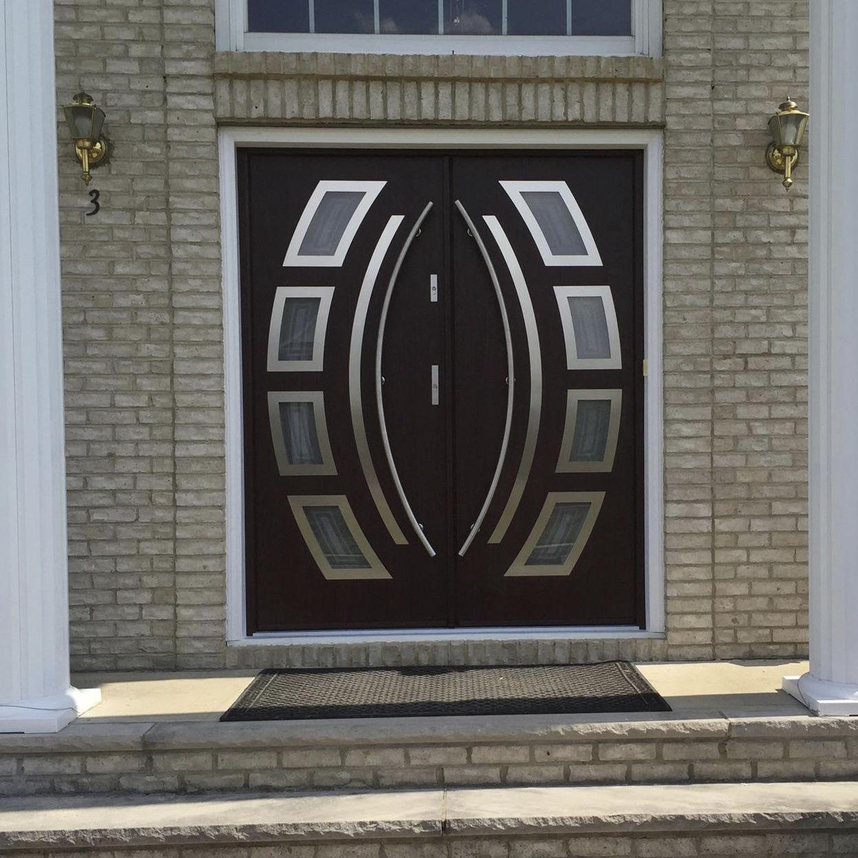 Entry Door Swing Stainless Steel Security Miami Ville Doors