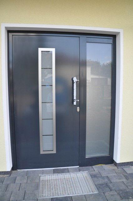 ... entry door / swing / stainless steel / security ... & Entry door / swing / stainless steel / security - MADRID - Ville Doors