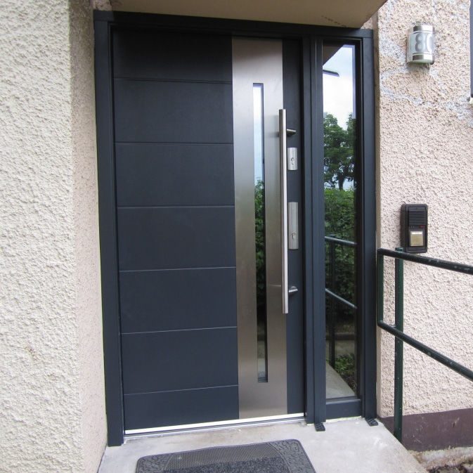 Entry Door Swing Stainless Steel Security