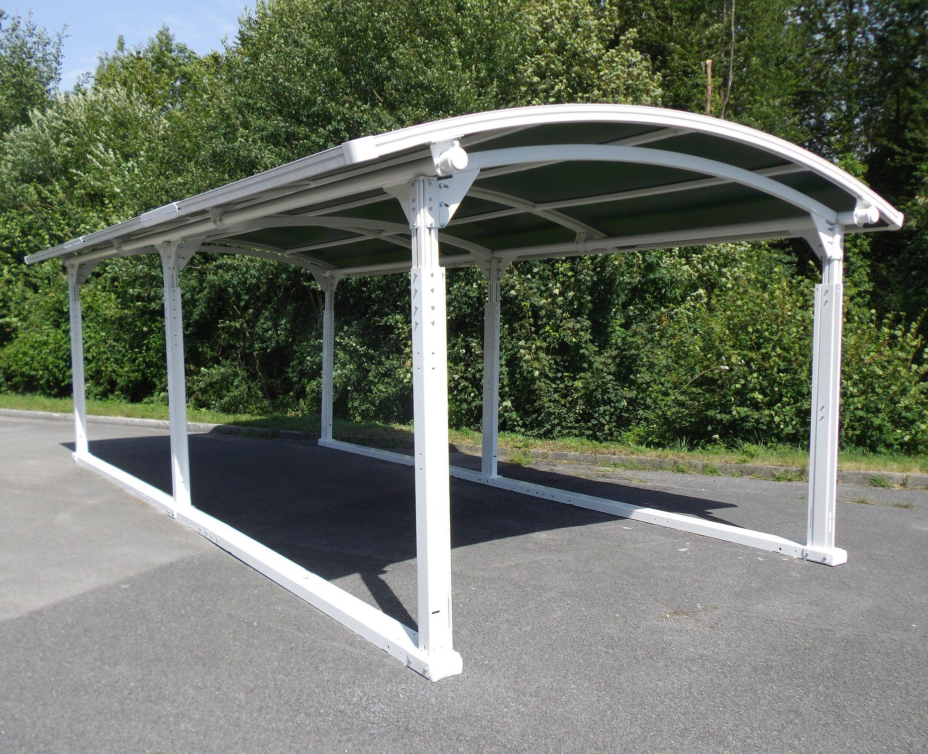 Aluminum Carport / Steel / Polyester / PVC Coated   COVERSTYLE