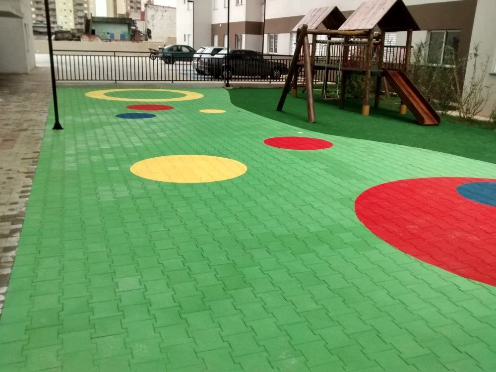 Epdm Floor Covering Rubber For Playgrounds Public Spaces