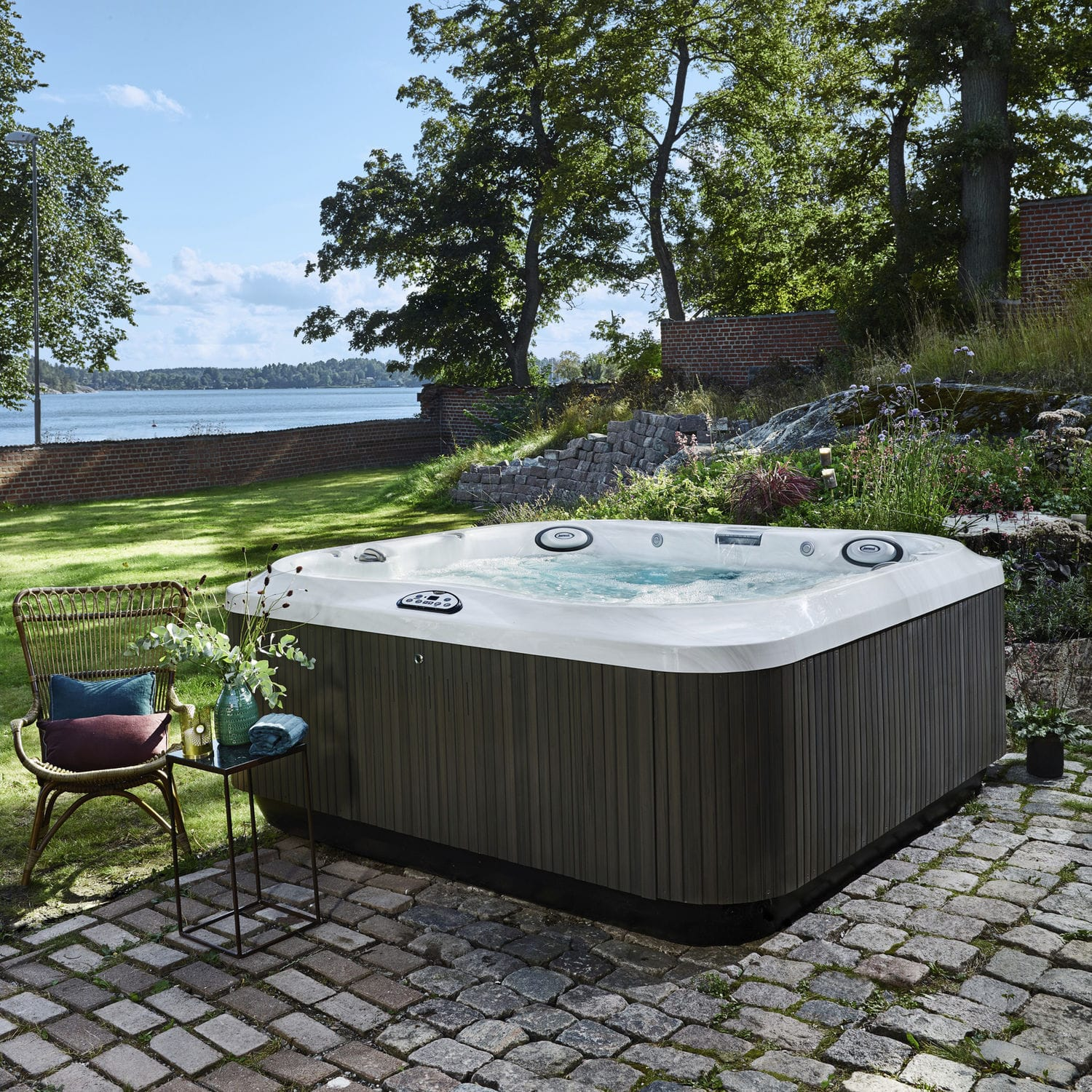 tempo lifestyle tub hot spot spring person gallery pearl tubs espresso products