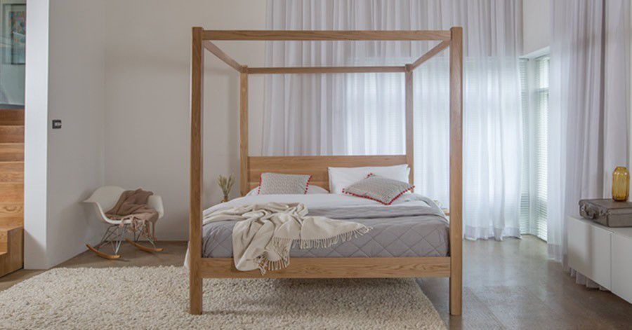 ... Canopy bed / double / contemporary / with storage FOUR POSTER CLASSIC Get Laid Beds ... & Canopy bed / double / contemporary / with storage - FOUR POSTER ...