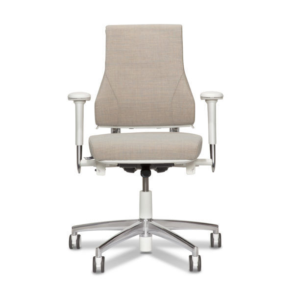 Contemporary Office Chair On Casters Star Base With Armrests Axia 2 3