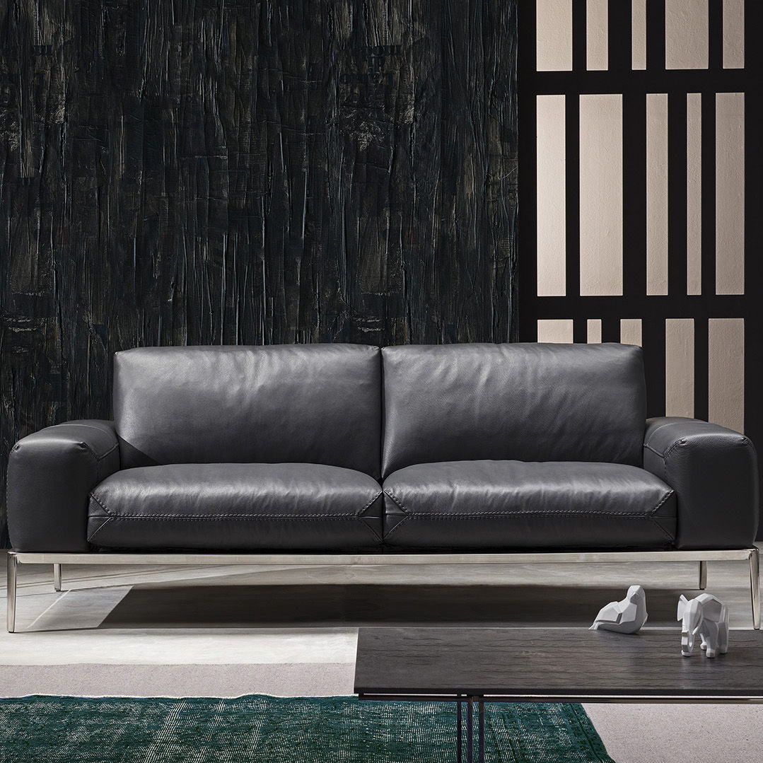 Contemporary Sofa / Leather   CHIC
