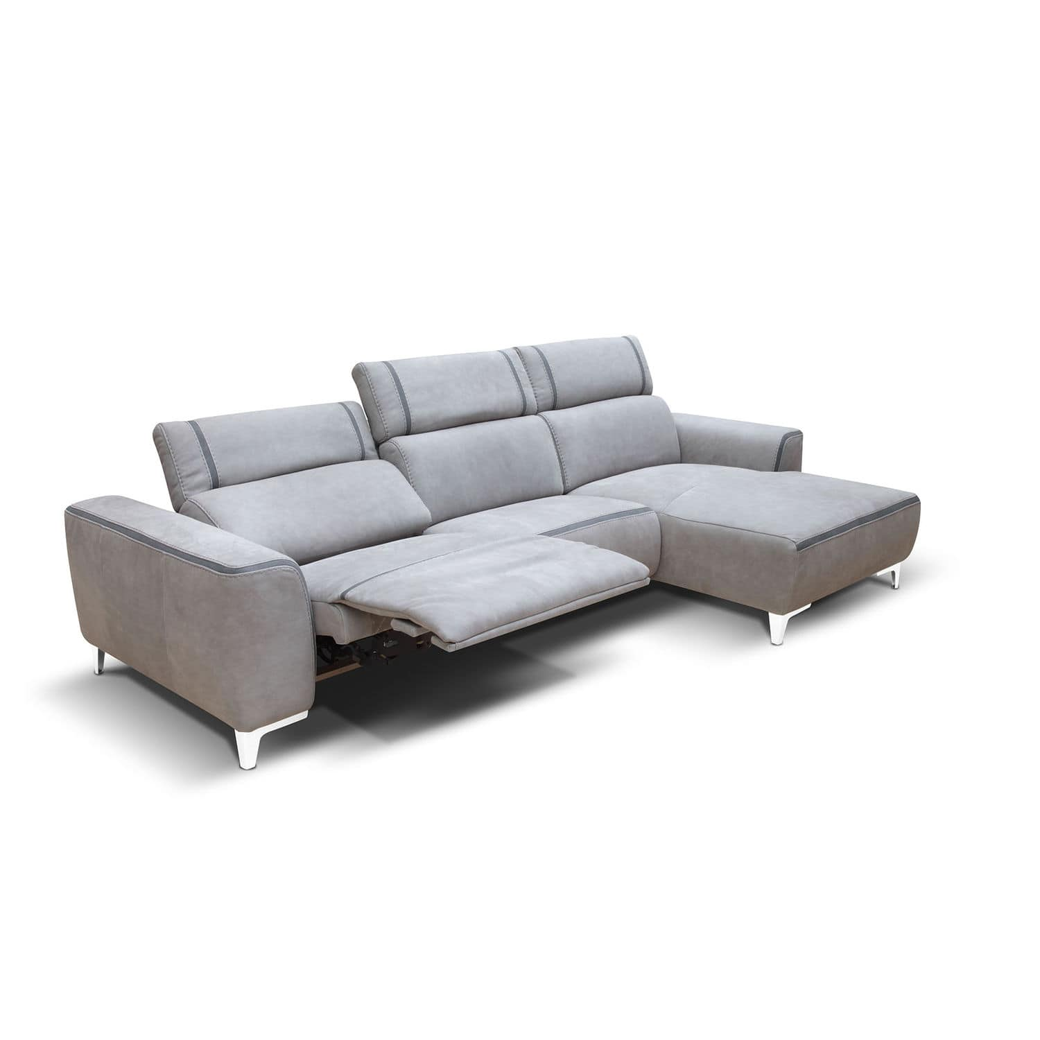 Contemporary sofa / fabric / reclining - ARES - Rossini