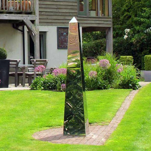 Slate Sculpture / Stainless Steel / Copper / Garden   OBELISKS