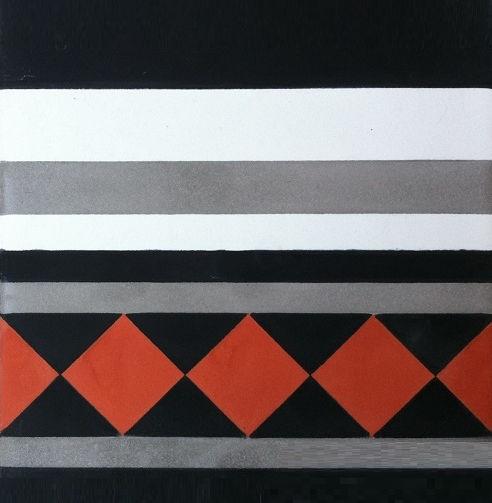 Cement Border Tile Wall Mounted For Floors V20b 010 V20c 010
