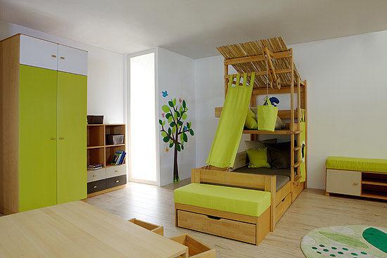 75893c1bed2 Unisex children's bedroom furniture set - DEBE.DESTYLE : KIDS ROOM ...