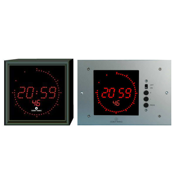 Contemporary Clock Digital Wall Mounted LED