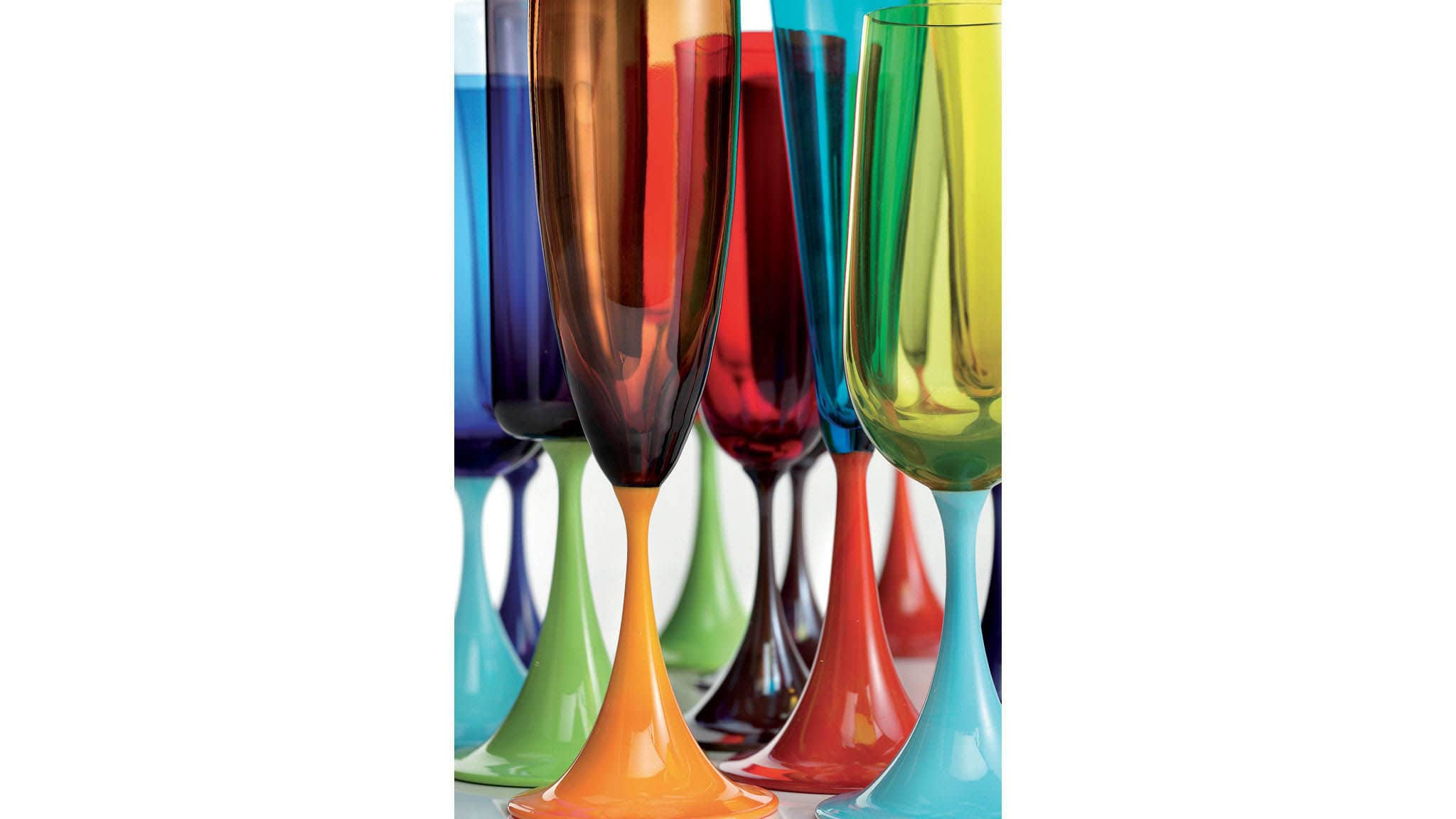 83d0df18c3198 Blown glass champagne flute / commercial - GUEPIERE by Stefano ...
