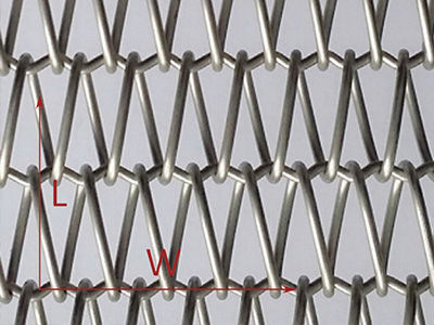 Cladding woven wire fabric / copper / twisted - XY-A1283 - Hebei ...