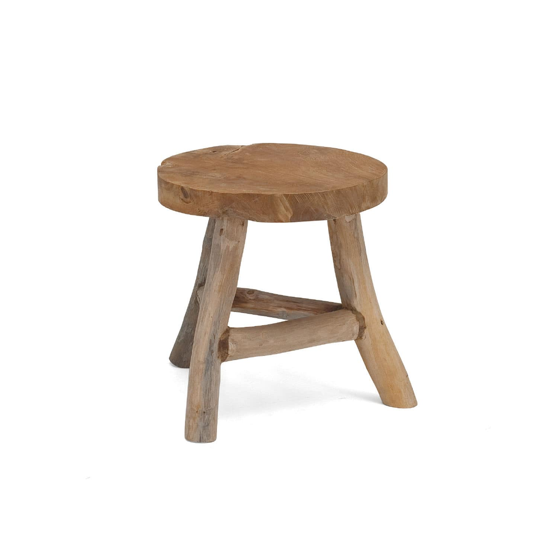 Contemporary Stool Wooden Garden Rooty Stuhl By Sako Wijma