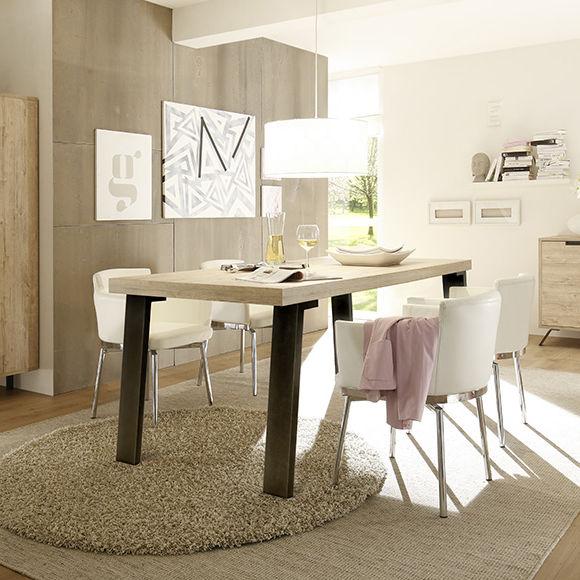 7ee753ead1089 Contemporary dining table   oak   walnut   wenge - PALMA - LC spa