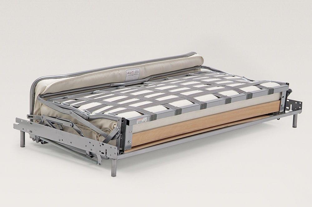 Sofa Bed Mechanism With A Spring Mattress Romoflex