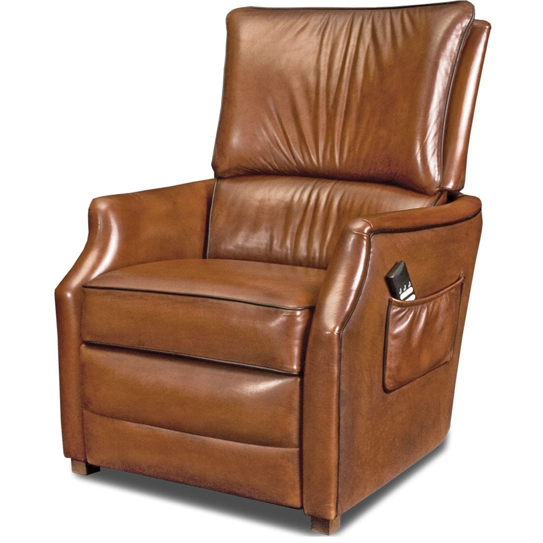Traditional Armchair / Leather / Reclining / High Back   TESSA