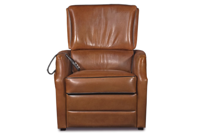 ... Traditional Armchair / Leather / Reclining / High Back ...