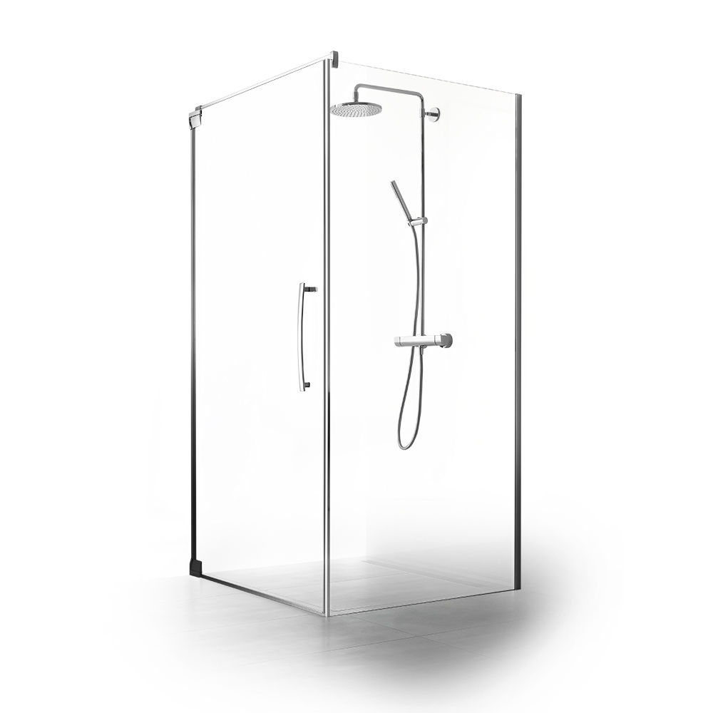 Entzückend Palme Duschabtrennungen Beste Wahl Walk-in Shower Cubicle / Glass / Tempered