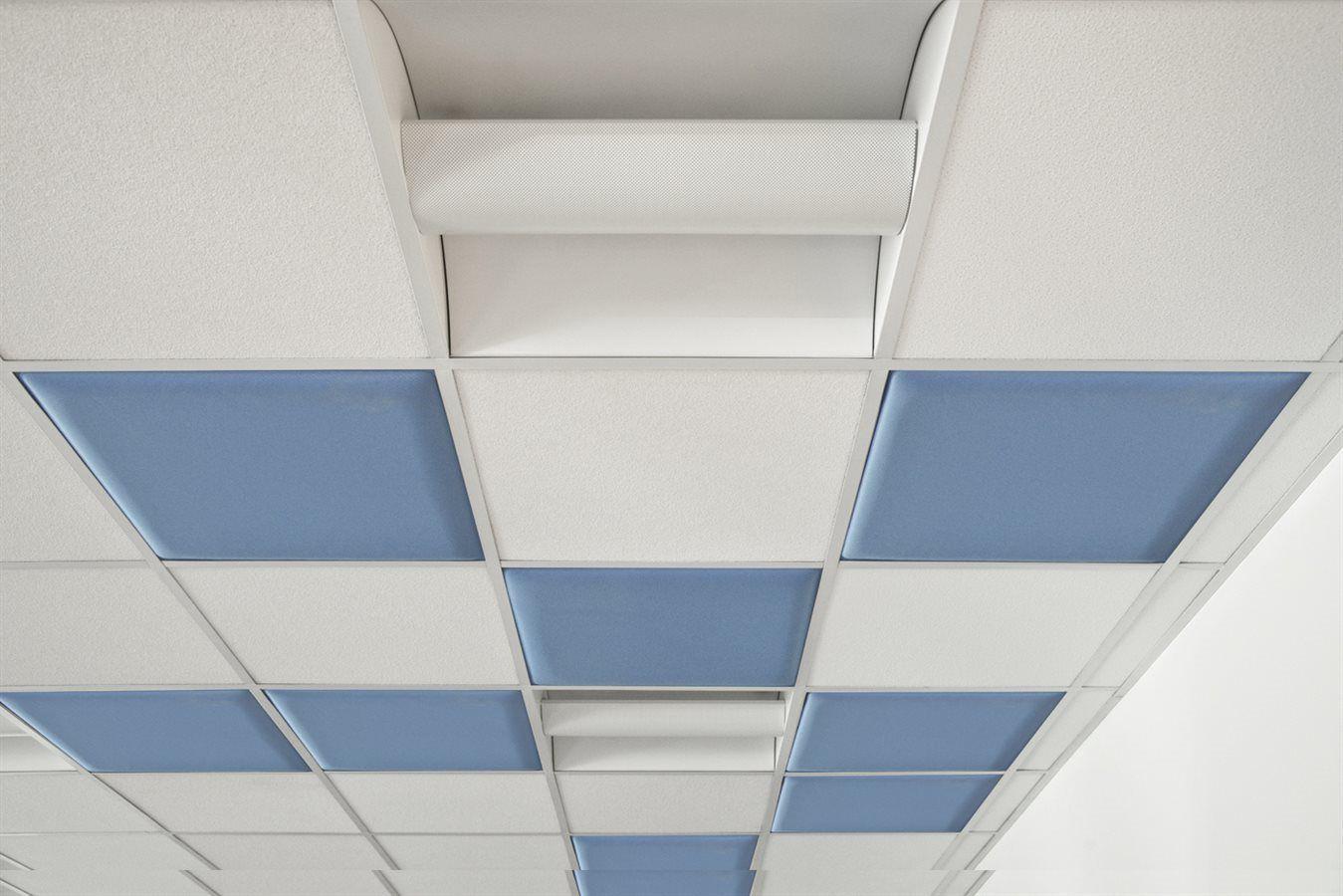 False ceiling acoustic panel / hanging / commercial - COLIBRÌ - DVO