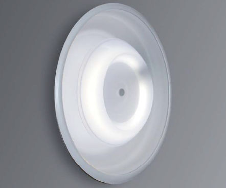Contemporary Ceiling Light Round Steel Fluorescent Asky Alter