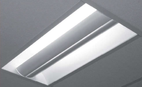 Recessed ceiling light fixture / recessed floor / fluorescent / linear - ECHO FA 600 : recessed fluorescent lights - azcodes.com