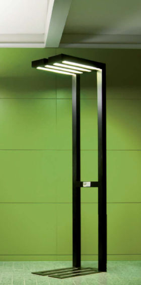 floor standing lamp contemporary aluminum for architectural lighting padeo alter alter lighting