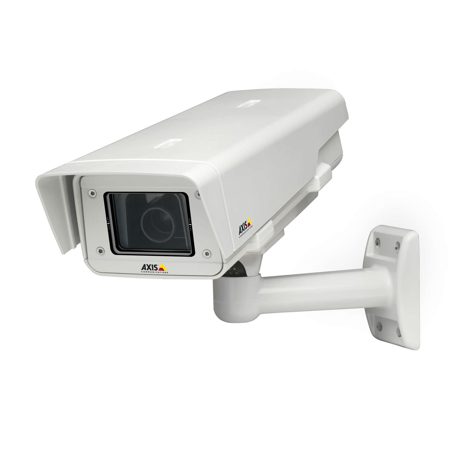 Fixed security camera / IP / bullet / wall-mounted - P1355-E ...
