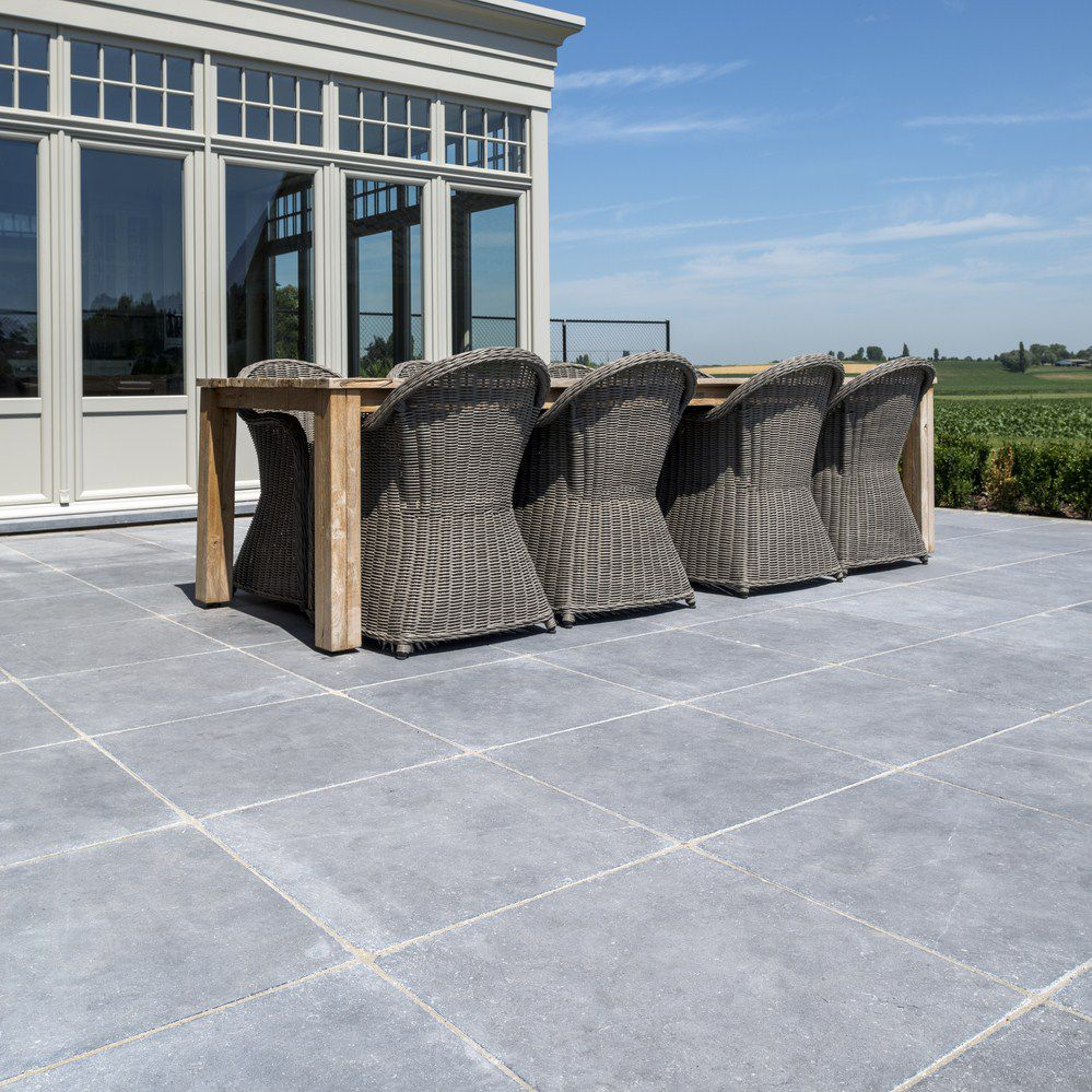 Indoor tile / outdoor / floor / limestone - NATURAL STONE - BELGIAN ...