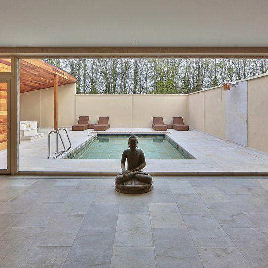 Indoor Tile / Floor / Wall / Limestone   NATURAL STONE   ESKI BEIGE  SABBIATINO