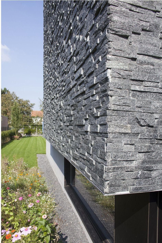 Stone marble granite exterior wall cladding view cladding wall -  Quartzite Wall Cladding Exterior Interior Natural Stone Black Quartz Stoneskin Beltrami Nv