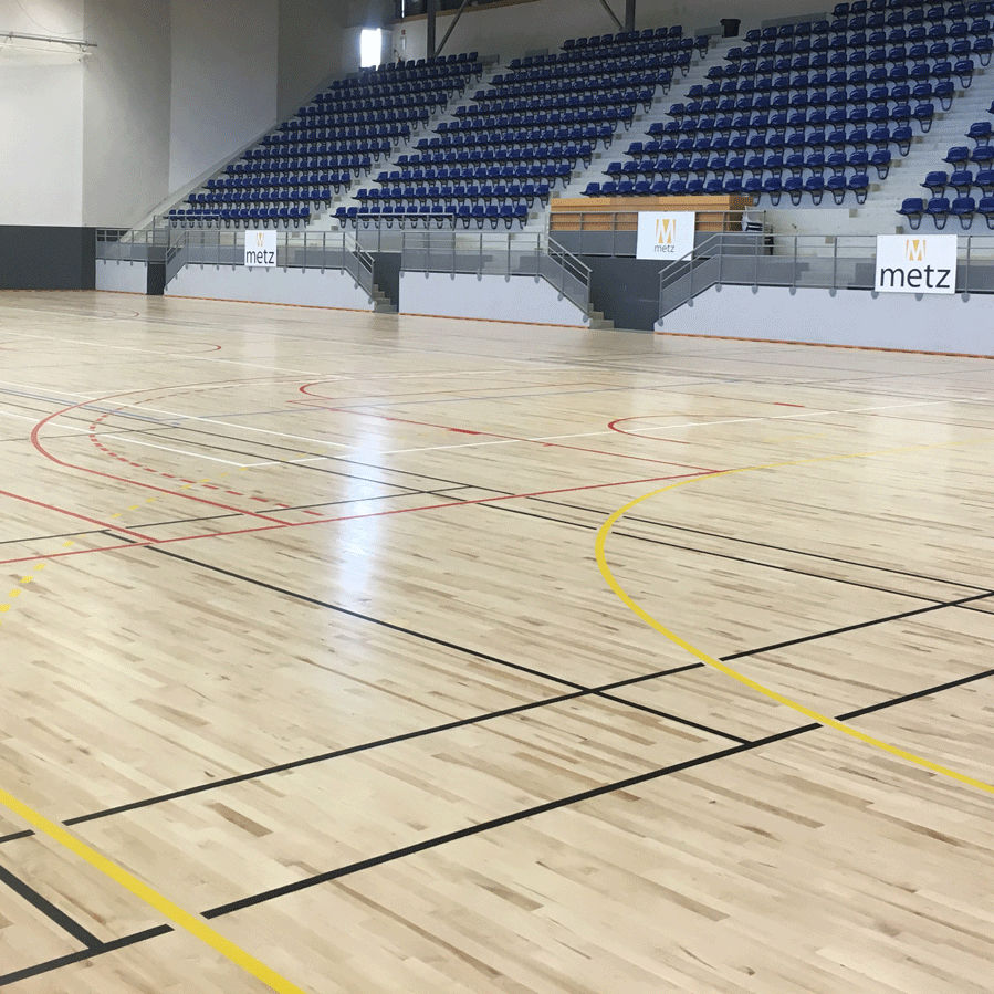 Maple Sports Flooring / For Indoor Use / For Multipurpose Gyms   CONNOR  SPORTS ALLIANCE