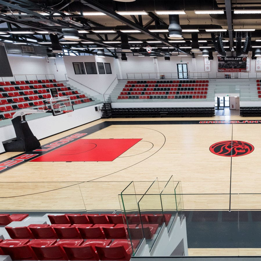 Maple Sports Flooring / For Multipurpose Gyms   CONNOR SPORTS NEOSHOK