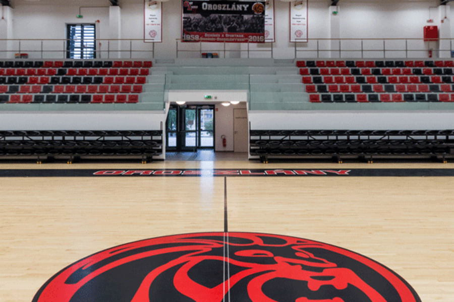 ... Maple Sports Flooring / For Multipurpose Gyms CONNOR SPORTS NEOSHOK  Gerflor   Contract Sport U0026 Contract ...
