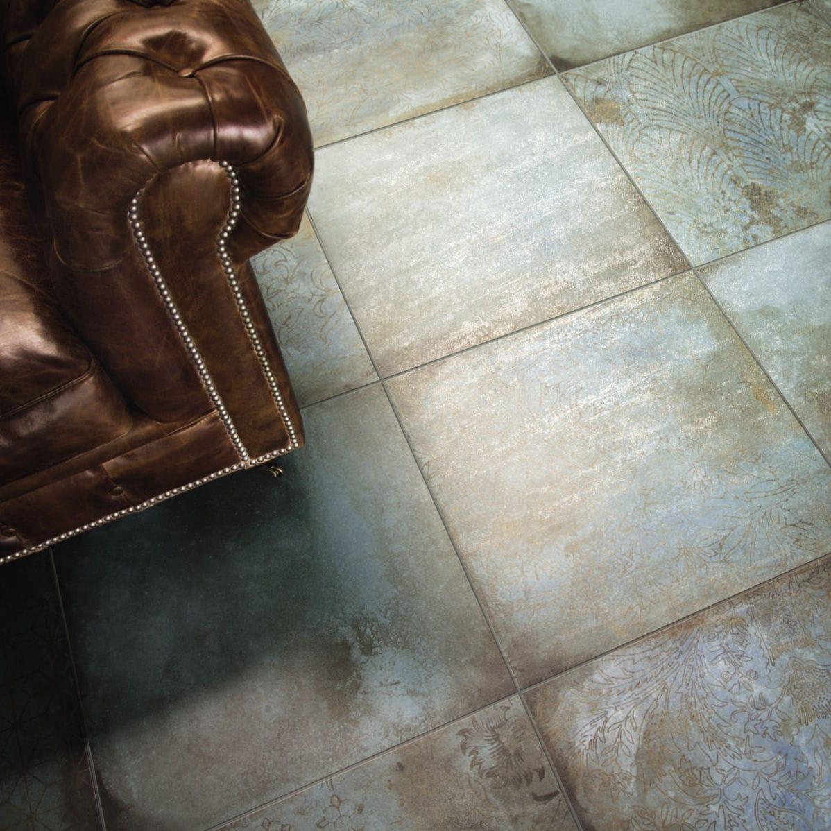 Indoor Tile Outdoor Wall Floor TRACE MINT CERAMICHE - Carrelage e tiles